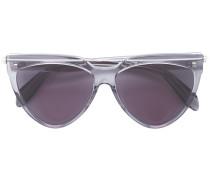 Halbrunde Pilotenbrille - women - Acetat/metal