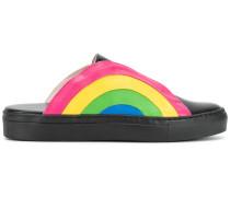 Slip-On-Sneakers mit Regenbogenmotiv