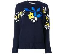 floral patch jumper