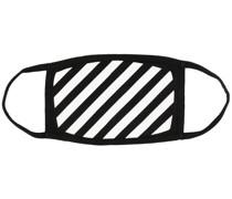 Mundschutz mit diagonalen Streifen