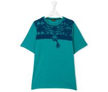 T-Shirt mit grafischem Print - kids