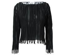 Pullover mit Streifenapplikationen