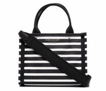 Kleine Handtasche mit Streifen