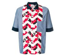 Hemd mit Patchwork-Design