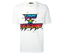 T-Shirt mir Logo-Print
