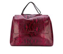 high shine shoulder bag - women