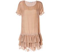 Kleid mit weitem Ausschnitt