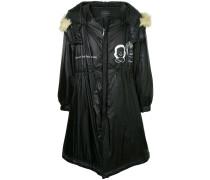 oversized hooded raincoat