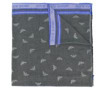 logo printed scarf