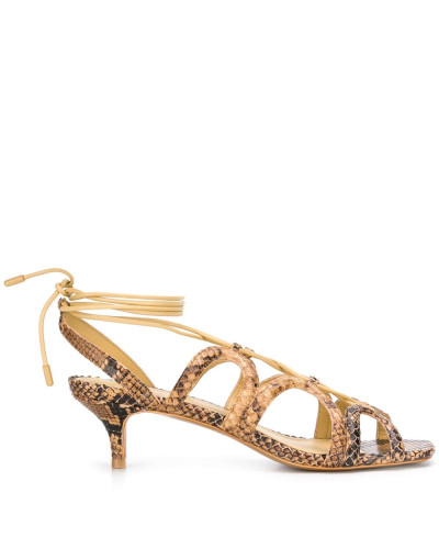 Sandalen mit Kitten-Heel-Absatz