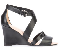 Klassische Wedge-Sandalen - women - Leder - 38