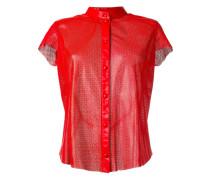 Kragenloses Lederhemd - women - Kalbsleder - XL