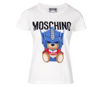 'Transformer' T-Shirt mit Bär-Print