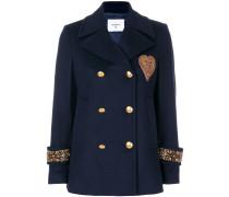 Military-Jacke mit Verzierungen