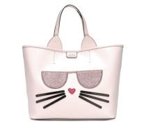 Handtasche mit Katzenmotiv