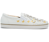 butterfly Intrecciato sneakers