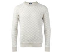 Pullover mit Kettenmuster