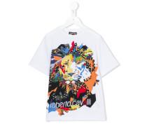T-Shirt mit Print - kids - Baumwolle/Elastan