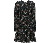 'Sandra' Seidenkleid mit floralem Print