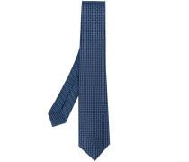 embroidered tie - men - Seide - Einheitsgröße