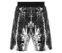 'Cameron' Shorts mit Pailletten