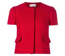 - Cropped-Jacke mit kurzen Ärmeln - women