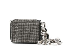Mini-Tasche mit Kristallen