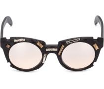 - Runde Sonnenbrille mit verziertem Gestell - men