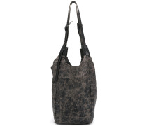 bleached deconstructed tote