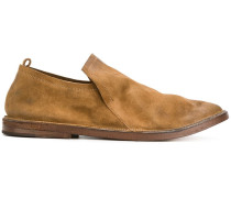 slouched slip-on loafers