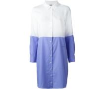 Hemdkleid in Colour-Block-Optik