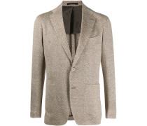 Gestricktes Tweed-Jackett