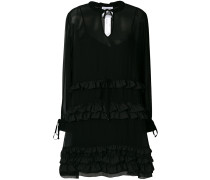 ruffled shirt dress - Unavailable