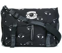 'Eyes' messenger bag