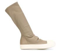 Sneaker-Stiefel mit Kontrastsohle - women
