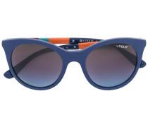 Sonnenbrille in Colour-Block-Optik - women