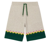 Shorts mit Fair-Isle-Muster