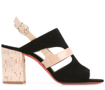 Sling-Back-Sandalen mit Cut-Outs