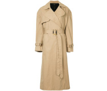 Illustrated trench coat