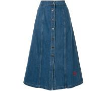 'Celeste' Jeans-Midirock