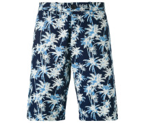 Shorts mit PalmenPrint