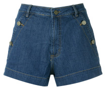 denim shorts - Unavailable