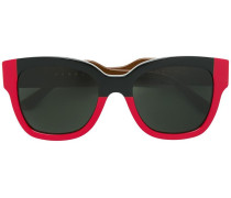 Sonnenbrille in Colour-Block-Optik - women