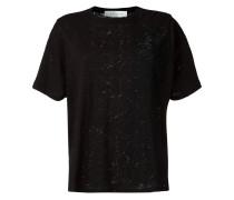 T-Shirt in Distressed-Optik - women - Baumwolle