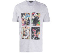 T-Shirt mit Pop-Art-Print