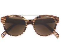 Sonnenbrille mit diagonalen Streifen