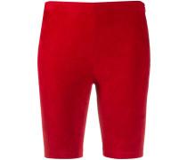 Biker-Shorts mit hohem Bund