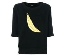 Oberteil mit Bananen-Print