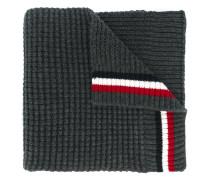 striped detail scarf