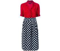 'D-Blaze' Kleid mit Herz-Print